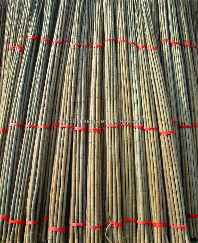treated natural bamboo for building