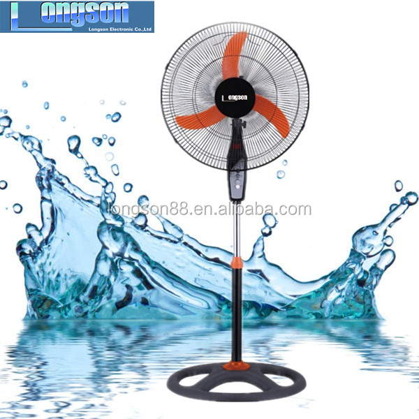 Home Appliances Guangzhou 18inch round Base Plastic Electric Standing Fan With Good Air Flow