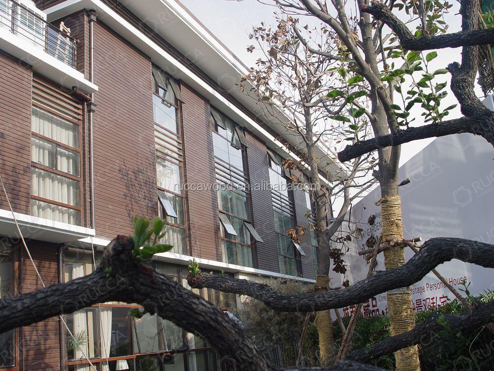 Wood Plastic Composite Exterior Wall Panels/ Architectural Design ...