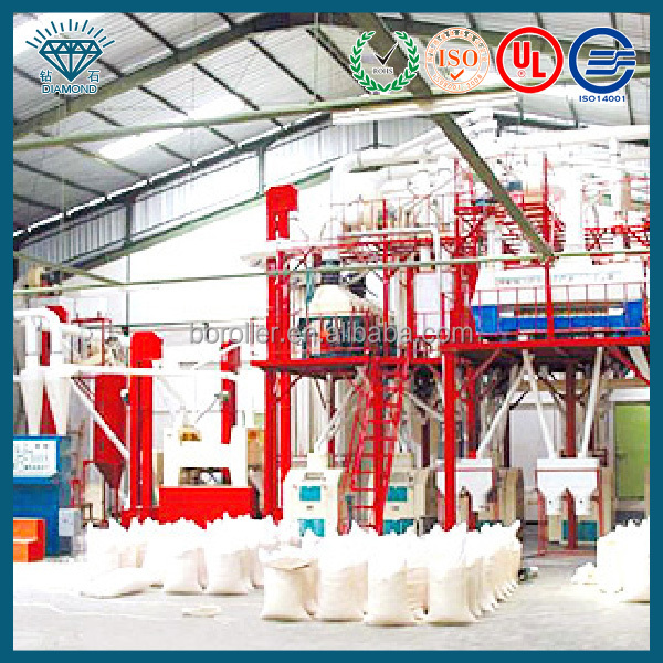 grain flour with original nutrition/corn milling machine