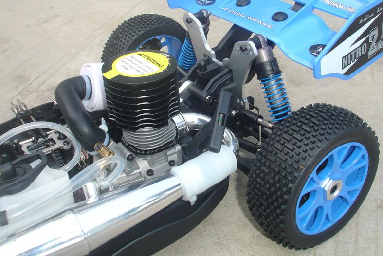 Rh802 Nitro Engine Car Petrol Rc For 1 8 Scale