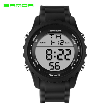 72a37fb6d30 SANDA Watches Mens Top Brand Luxury Fashion Casual Electronic LED Digital  Watch Men Military Sport Watches