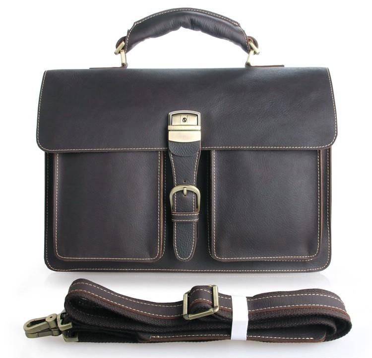 2015 New Model Leather Business Bag Men's Executive Bag Briefcase ...