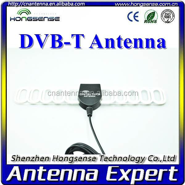 Flat indoor tv antenna DVB-T DVB-T2 ATSC ISDB-T HD TV antenna