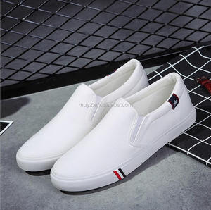 L1418A Alibaba latest style 2017 men canvas shoes flat sport man shoes