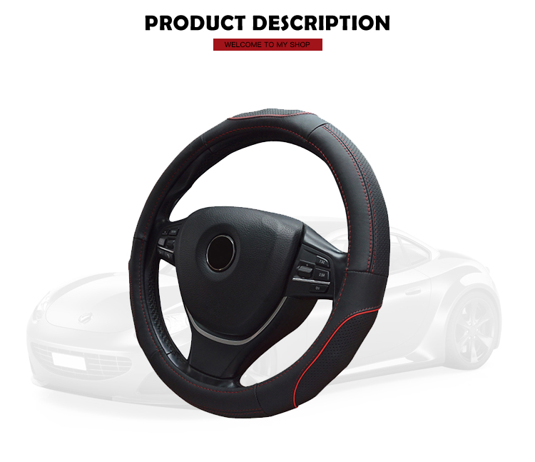 Wholesale promotional car steering wheel cover