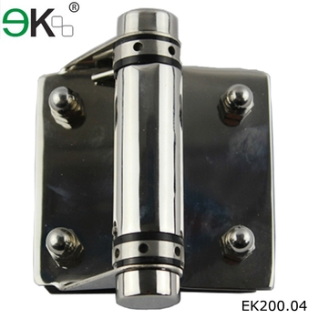 Swimming pool self closing 12mm stainless steel magnetic glass gate ...