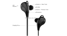 Bluetooth 4.1 Wireless Sports In-ear Stereo Headphones Earbuds Earphones with Microphone