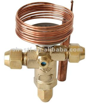 Dual Flow Expansion Valve Refrigeration For R22 R134a R407c R507 ...