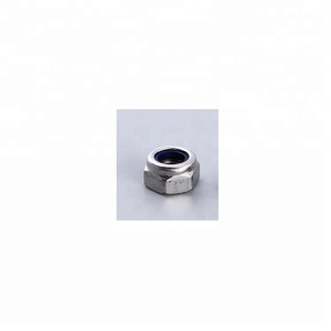 EH 201/304/316 natural color self locking nut DIN985 hex nylon insert lock nut locking nut with ISO9001 approval