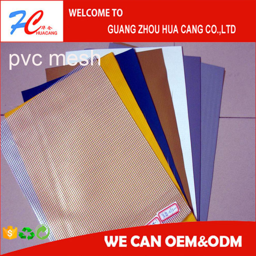 clear pvc reinforced film mesh tapaulin