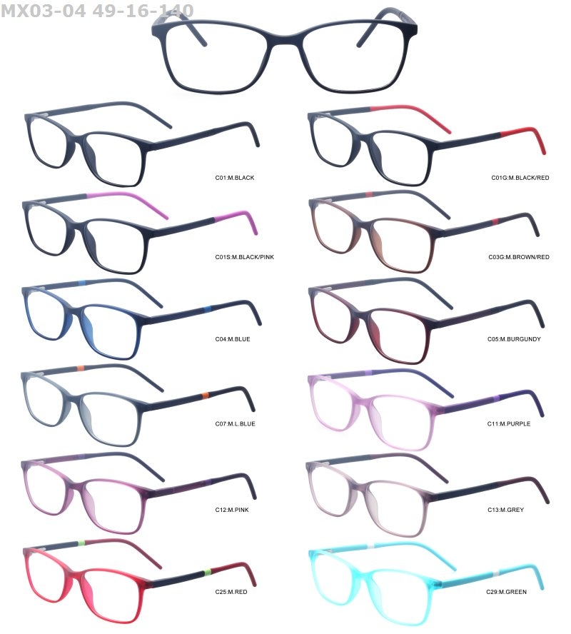 new product ideas 2018 tr90 cheap design spectacle promotional colorful eyeglasses changeable frames in stock