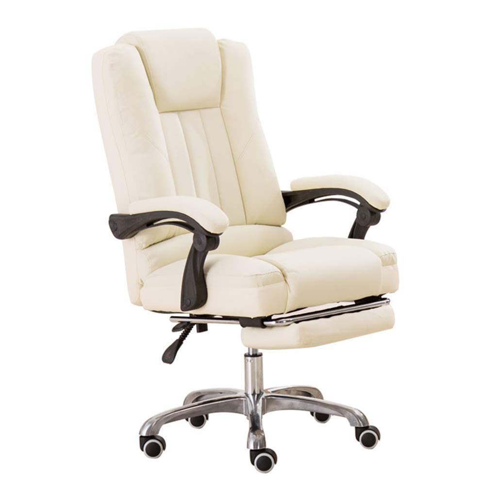 Desk Chairs Home Computer Chair Comfortable Office Chair Office boss Chair E-Sports Game Chair Study Room Comfortable Chair Child Learning Chair (Color : Beige, Size : 65cm65cm122cm)