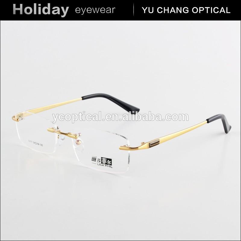 Naturally Rimless Brand Glasses - Famous Glasses 2018