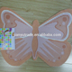 Soft Washable butterfly shape designed bath tub spa anti-slip funny bath mat