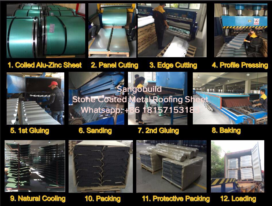 West Africa Qualified Roofing Sheet Materials Corrugated