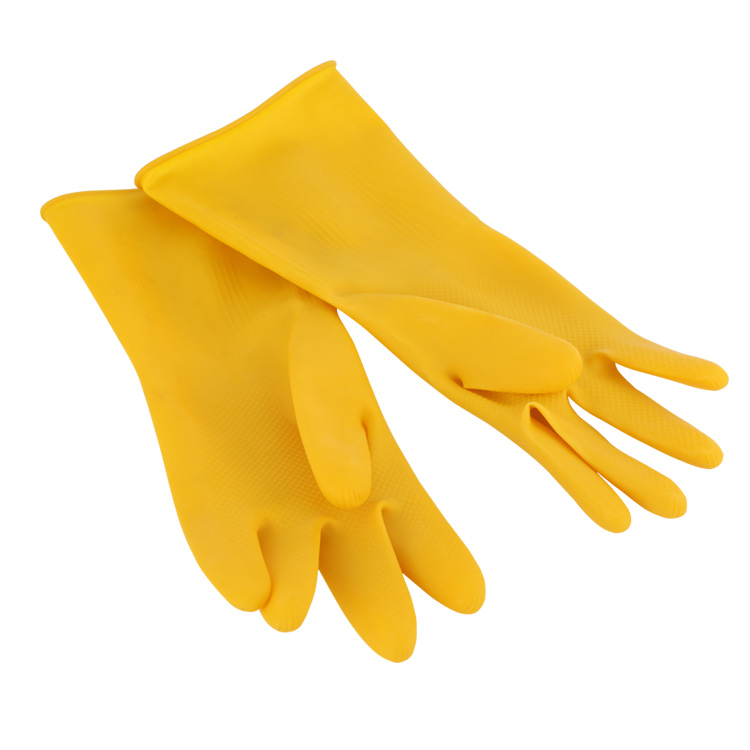 Examination non steril home garden rubber latex gloves household for kitchen clearning products