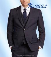 Top Deisigner Mens Custom Tailor 3 Piece Men Business Suits