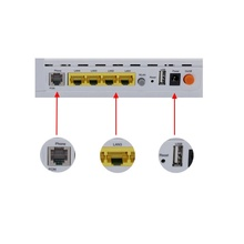 FTTH redes Venta caliente GPON 1GE + 3FE + 1 POTS + WIFI ONT con <span class=keywords><strong>VOIP</strong></span>/WIFI/USB