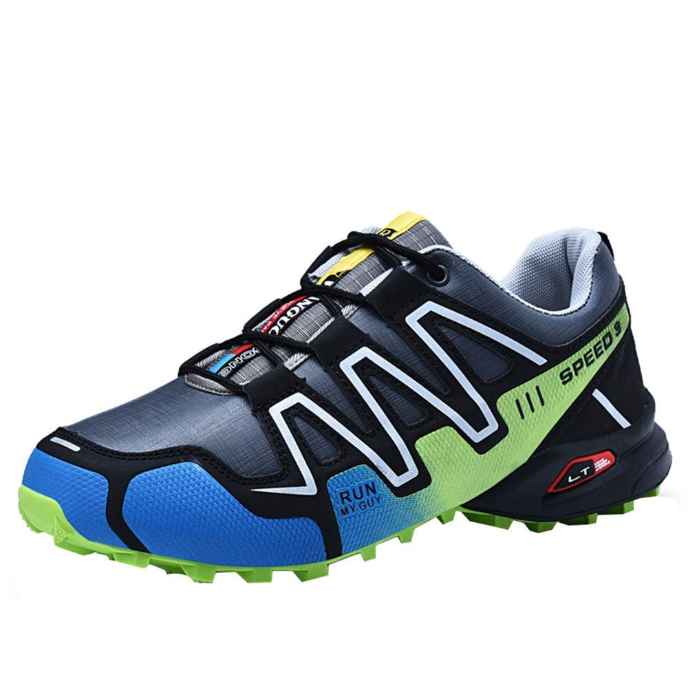 Caopixx Shoes for Men Non-Slip Running Shoes Sneakers Hiking Shoes Athletic Outdoor Sports Shoes