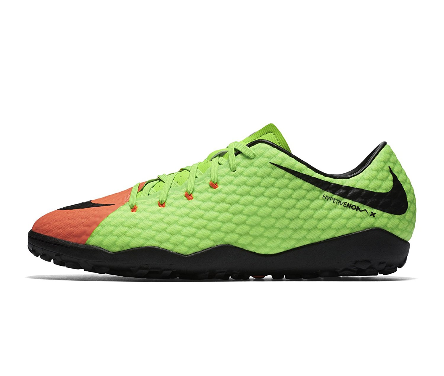 46c516369 Get Quotations · NIKE Men s HyperVenomX Phelon III TF Turf Soccer Shoes
