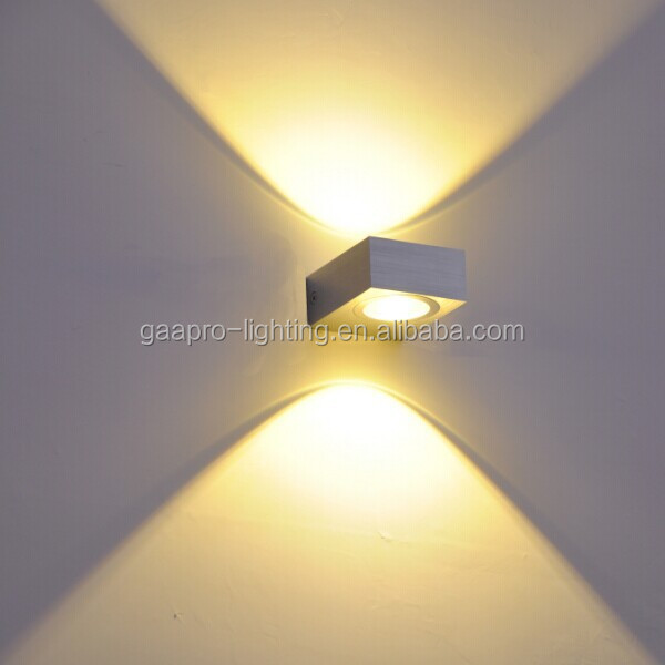 Modern Led Aluminum Waterproof Wall Light Outdoor Wall Lamp