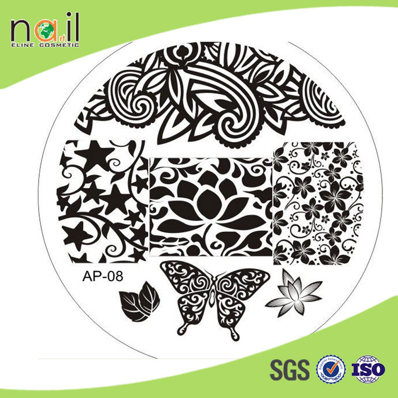 Fashion nail design stamping plate for diy metal nail art stamping fashion nail design stamping plate for diy metal nail art stamping plates prinsesfo Choice Image