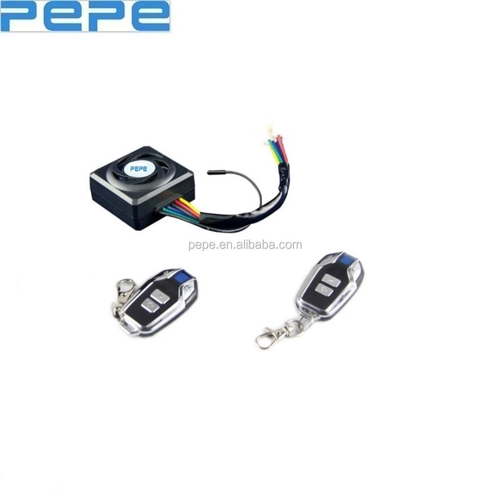 Listrik Sepeda Skuter Sistem Alarm Remote Control Mesin Kunci Electric Wireless Jarak Jauh Pengendali Mulai