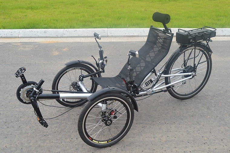 Adult electric recumbent trike 3 wheel for sale buy for Recumbent bike with electric motor