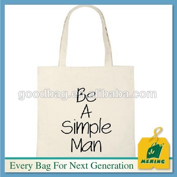China supplieer Logo customized jute cotton bags for shopping