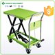 Material handling equipment manual small mobile scissor lift