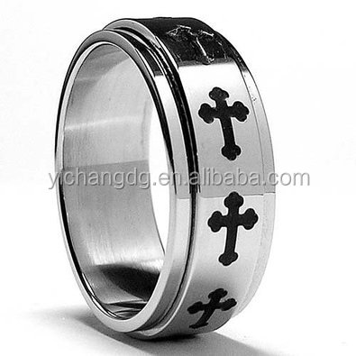 Fashions Man Cock Ring High Polish Stainless Steel Ring Comfort-fit Band Ring Size 6 To 15