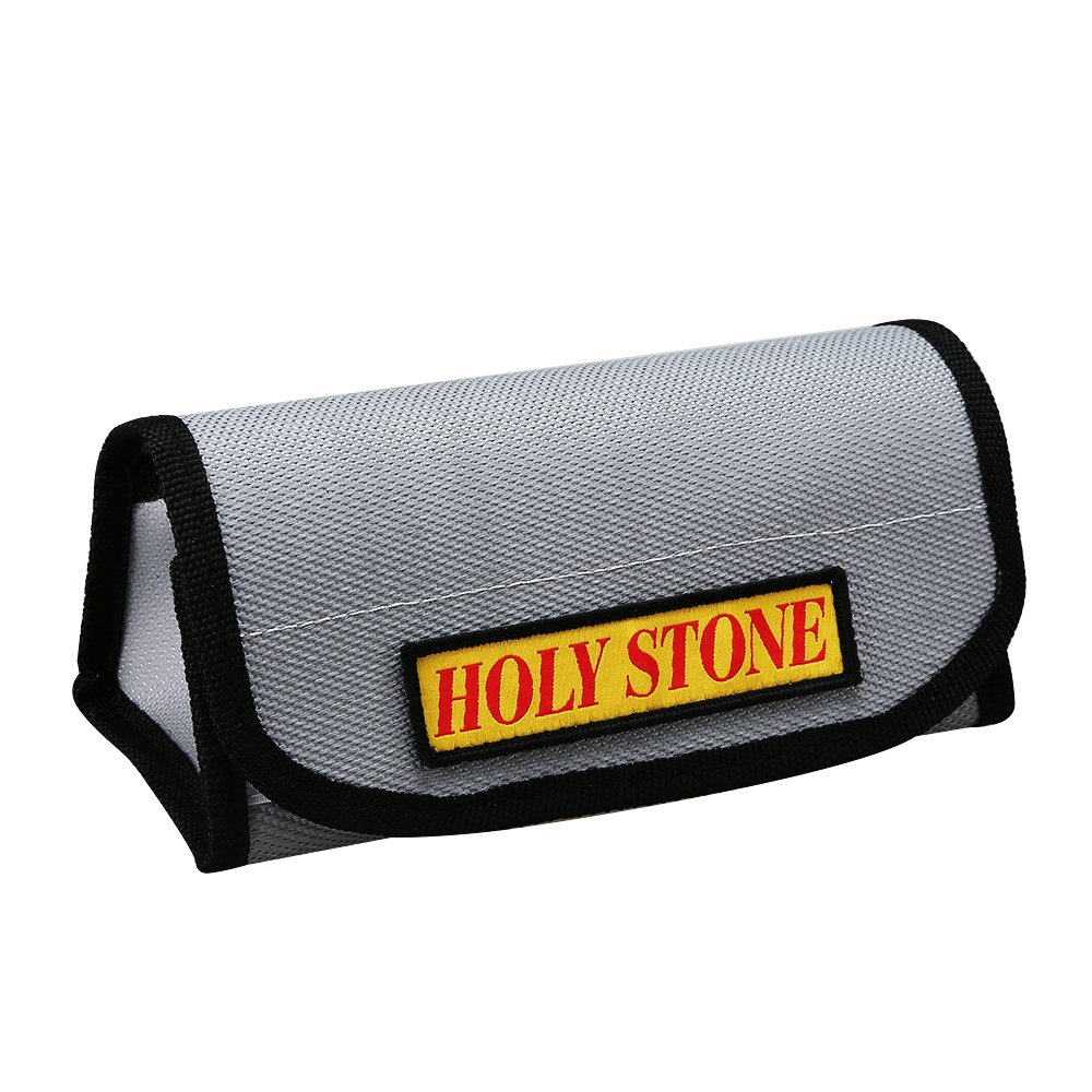 Holy Stone Lipo Battery Charging Bag Fire proof and Explosion proof Lipo Safe Bag for Charge and Storage, Fireproof both Inside and Outside, made from Environmentally-Friendly Material