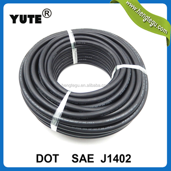 YUTE brand dot approved 1/2 inch sae j1402 specification truck air brake coil hose