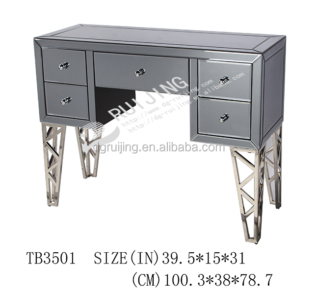 Hotel bedroom furniture mirrored dresser from China factory