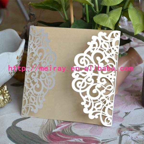 hot sale laser cut popular pakistan wedding pakistan wedding invitations, pakistan wedding invitations,Laser Cut Party Invitations