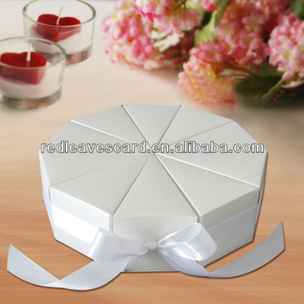 Paper sweet bags with vertical stripe wedding favor boxes wholesale supplier