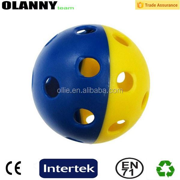 Durable Cricket Hollow Pickleball Ball