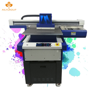 Factory Multifunction flatbed UV 6090 led Printer CMYK White & Varnish With 3pcs DX11 Heads a1 machine price
