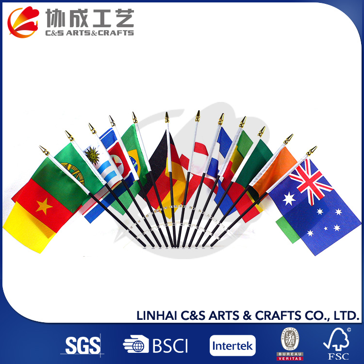 Eco-Friendly High Quality Canada Polyester Cheering Flag