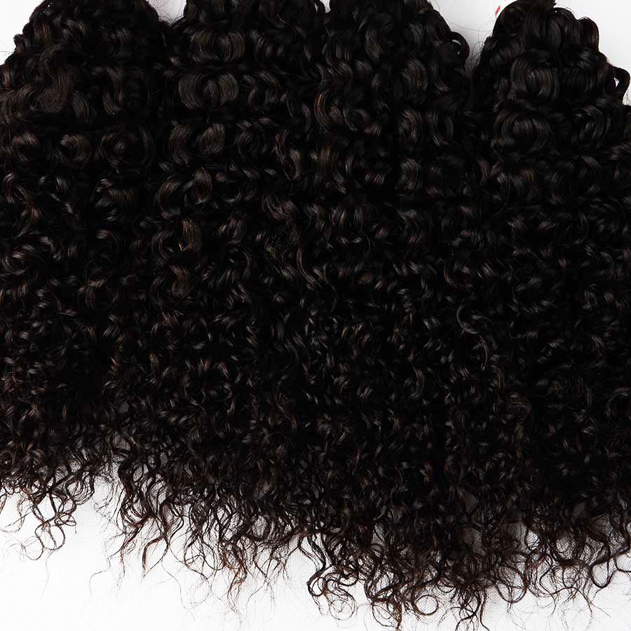Good Prices 8 Inch Curly Brazilian Hairwholesale Bulk Hair