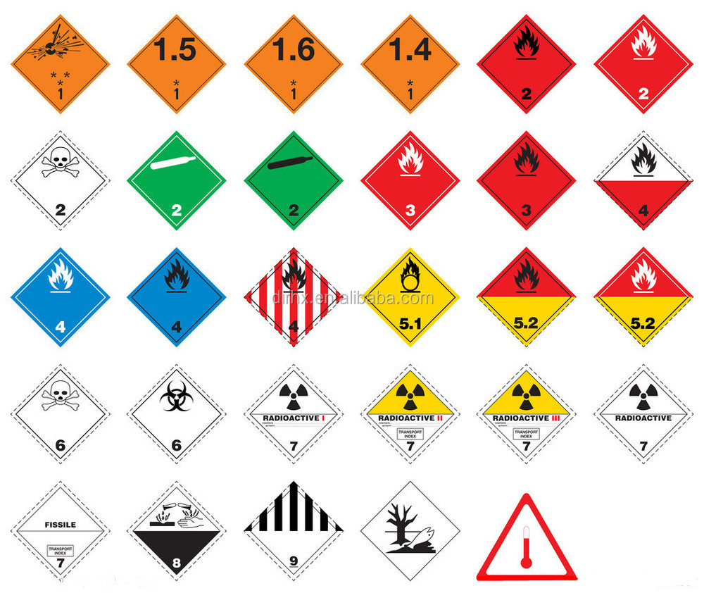 Oxidizer Hazard Label Oxidative Warning Label Buy Hazard