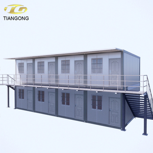 Custom Quick Build Prefabricated House Luxury Prefabricated Flat Pack Modular Container Hotel Room Design For Sale