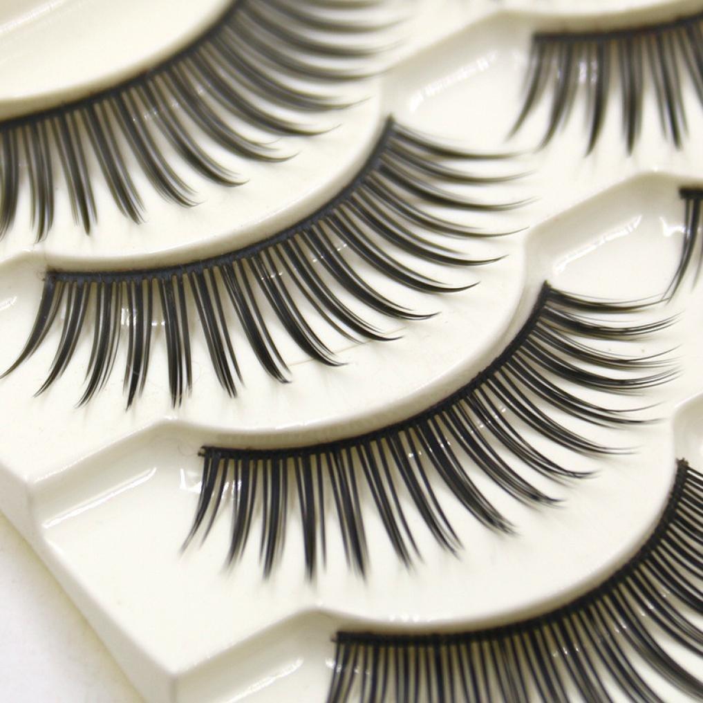 672ae5b028d Get Quotations · 5 Pair False Eyelashes, AMA(TM) Women Fashion Natural  Handmade Long False Eye