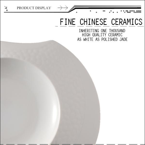 Bone China Airline Dinnerware Tableware White Ceramic Plates India ...
