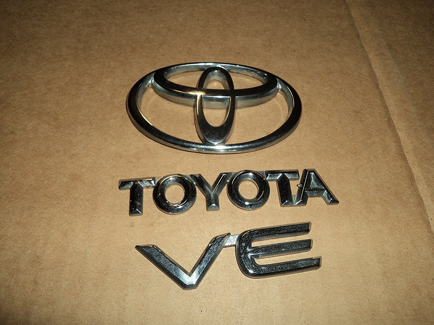 Cheap Corolla Trunk Light Find Deals On Line At Wiring Harness Toyota Get Quotations 99 02 Ve Rear Used Emblem Logo Set Of 3