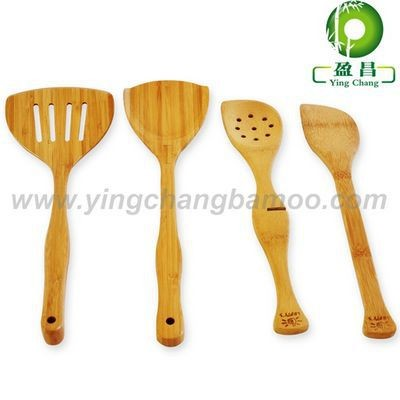 bamboo knife fork spoon travel set
