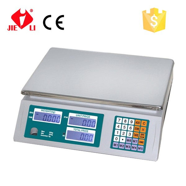 Popular Digital Price Scale Used In Supermarket Made In China Acs ...