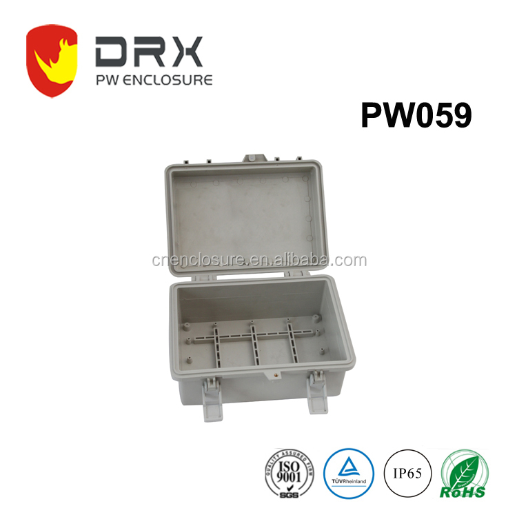Underground Waterproof Electrical Plastic Enclosure Junction Boxes IP65 with lid