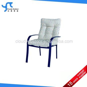 Outdoor Garden Patio Furniture Steel Frame Brown Leisure Fabric